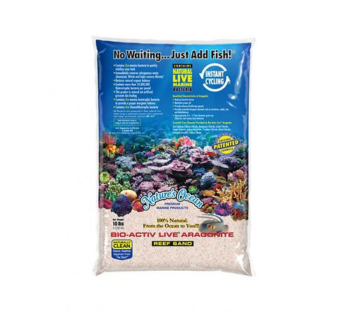 Natures Ocean Bio-Activ Samoa Pink Live Sand - 10LB