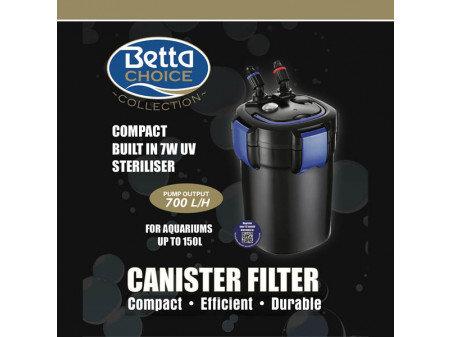 Betta external uv canister filter 700