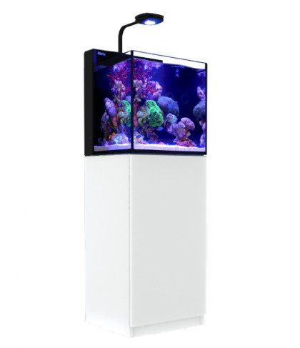 RED SEA MAX NANO 75 LITRE AQUARIUM & WHITE CABINET R40001