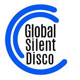 Silent disco Blue black sticker-design.j