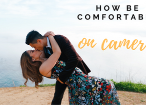 How to get comfortable during your photography or videography session.