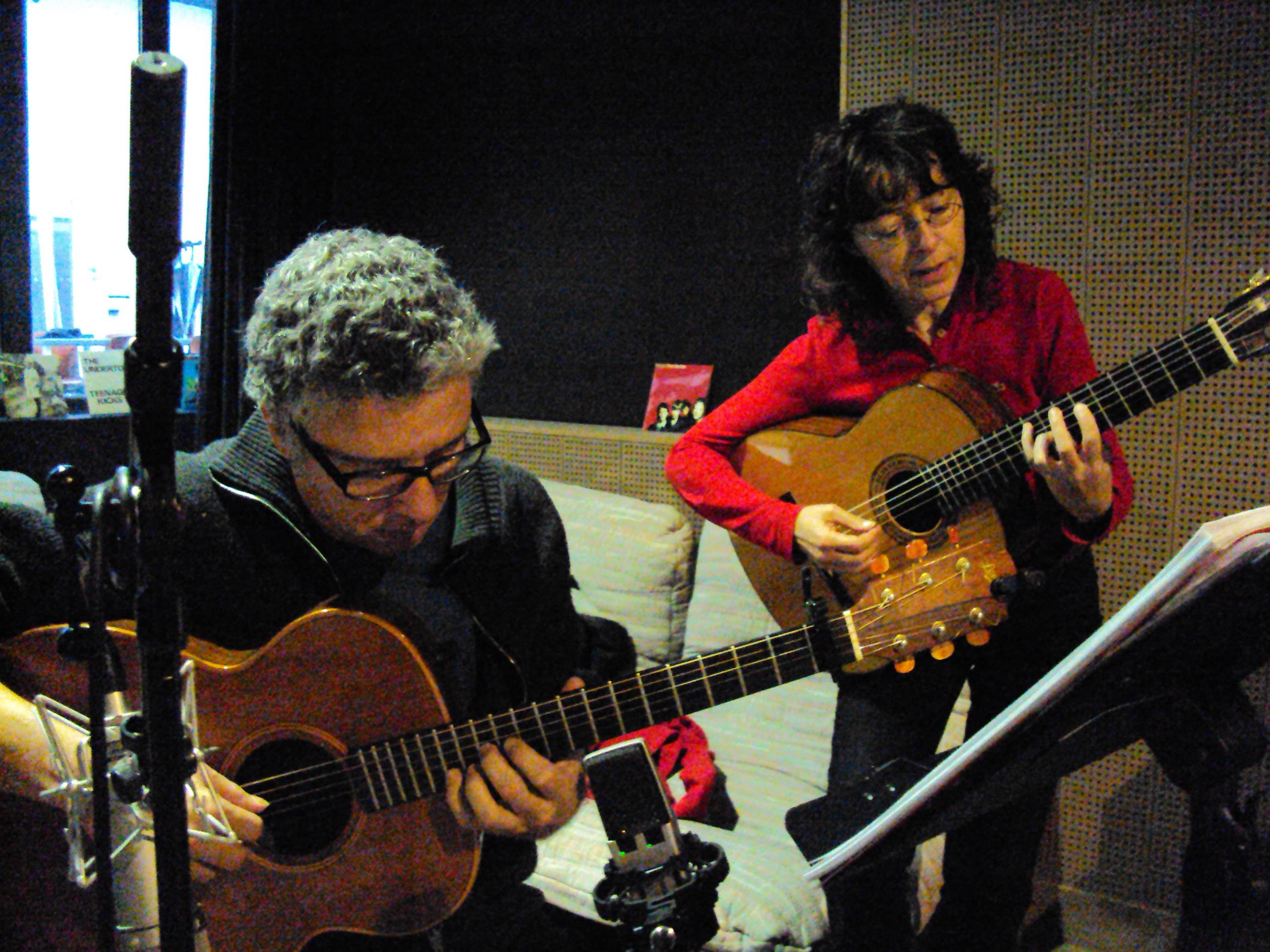 Pierrick Hardy et Verioca - au studio Gum