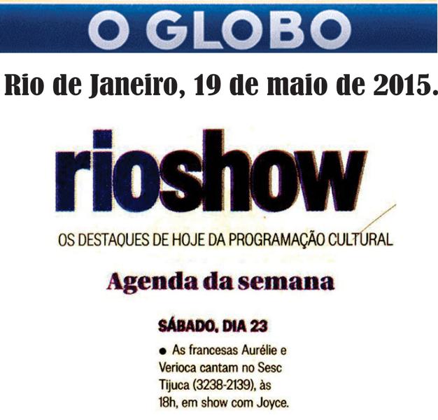 Aurélie-&-Verioca---O-Globo---Rio