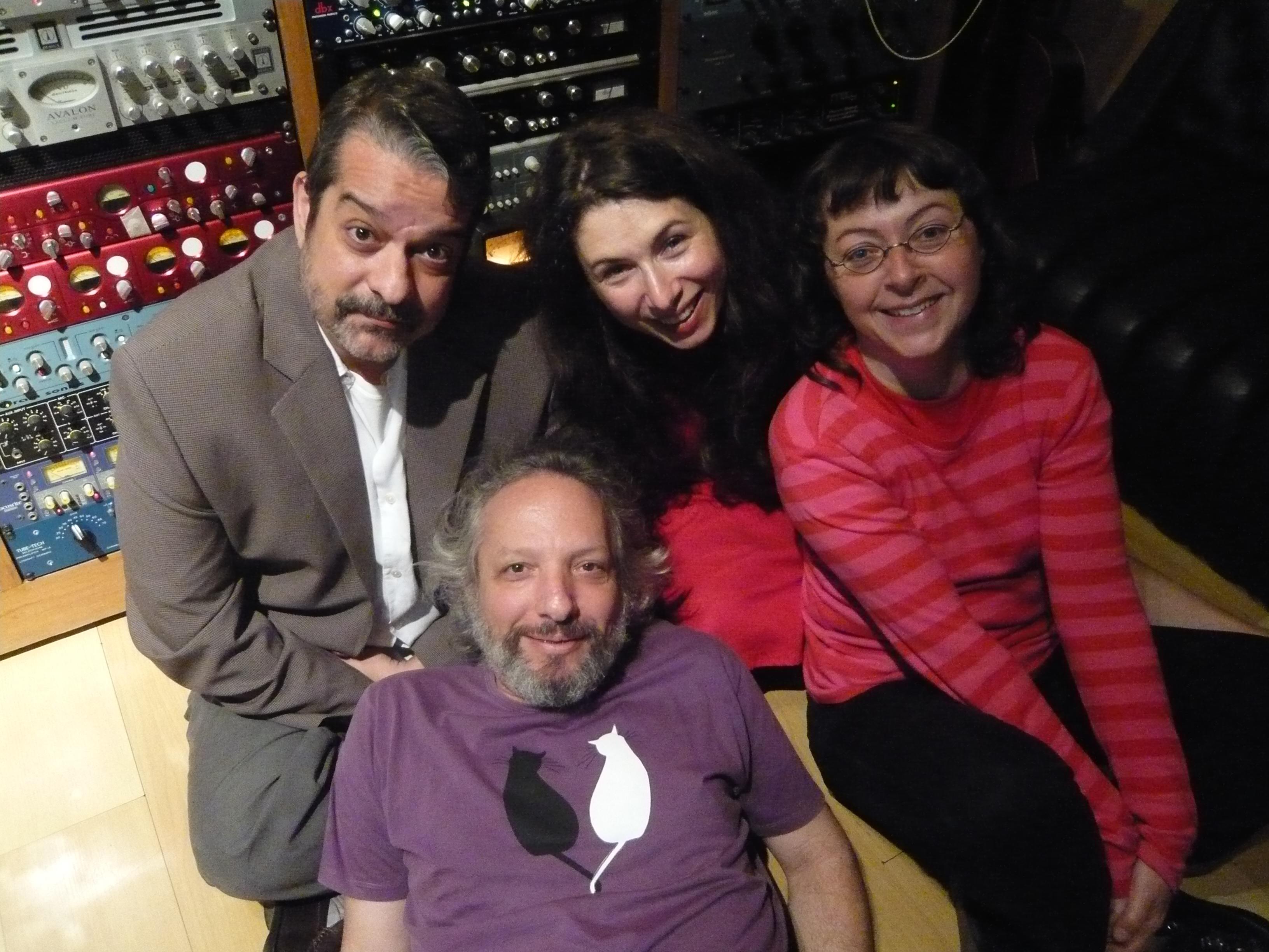 Com Luis Felipe de Lima e Carlos Fuchs