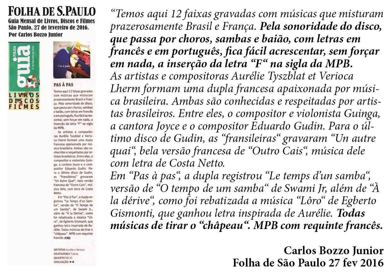 ILS PARLENT DE NOUS BR FOLHA DE SP