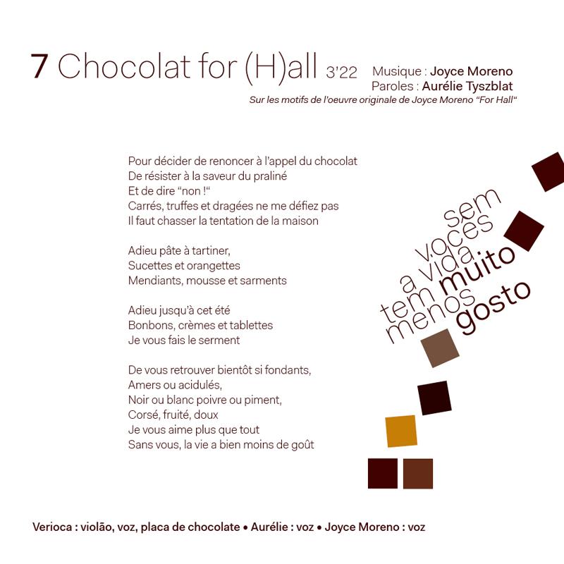 Chocolat-paroles