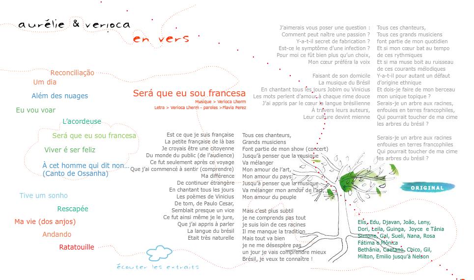 Sera que eu sou francesa traduction