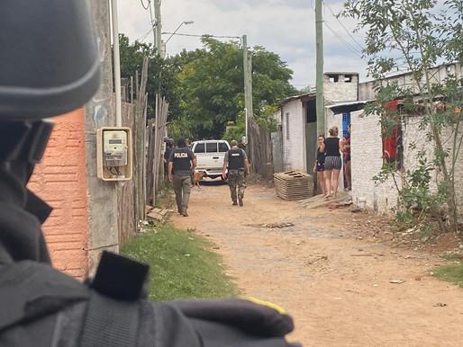 Tres personas marcharon a prisión por vender drogas en barrio villa sonia de Rivera
