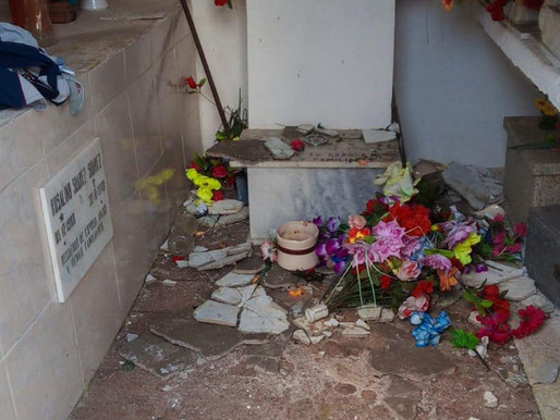 Cementerios de Rivera son vandalizados y huesos hurtados para rituales