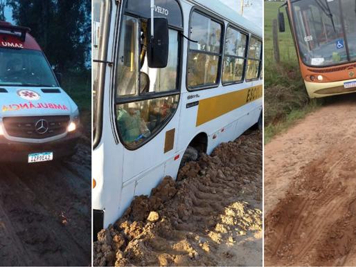 Estradas rurais do município preocupa e moradores pedem providências urgente
