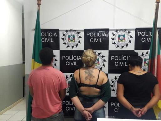 Operação A Casa Caiu prende três pessoas  em Dom Pedrito