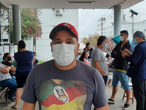 Sérgio que trabalha a 31 anos no hospital, relata a situação que a Santa Casa passa