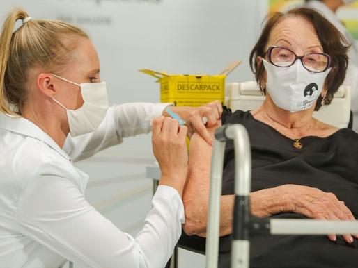 123,5 mil não tomaram a 2º dose da vacina contra Covid no RS