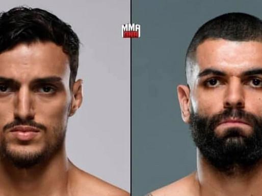 Invicto Eduardo Garagorri encara Ricardo Carcacinha no UFC São Paulo