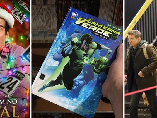 Coruja Geek: Natal na Netflix, série do Gavião Arqueiro e quadrinhos do Lanterna Verde