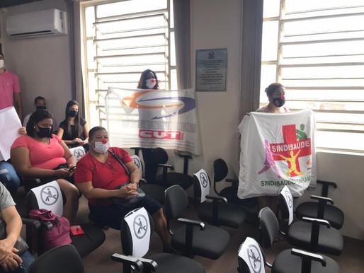 Câmara de Vereadores realiza sessão com funcionários da Santa Casa de Misericórdia