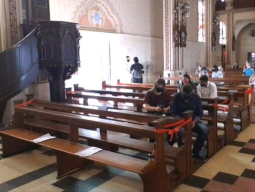 Governo do RS flexibiliza normas para cultos e missas após decisão do STF