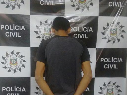 Em Uruguaiana, Polícia Civil prende acusado de abusar sexualmente da enteada de 5 anos