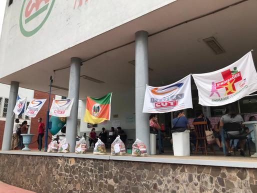 Funcionários do Hospital Santa Casa estão em seu segundo dia de greve