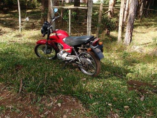 Comunitário do Prado recupera no Prado, moto que havia sido furtada