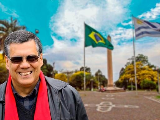 Diputado Marne Osorio plantea que Santanenses puedan vacunarse en Rivera contra el Coronavirus