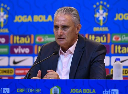 Tite anuncia convocados para os jogos contra Bolívia e Peru