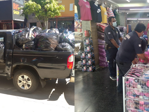 ADUANA incautó en Rivera 2844 prendas en comercios valoradas en 2.000.000 $ millones