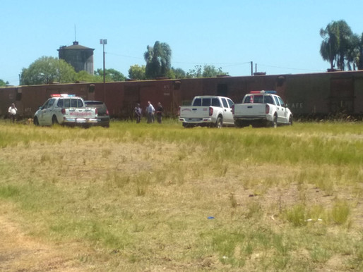 Se confirma que fue homicidio la  joven hallada calcinada en el vagón de AFE