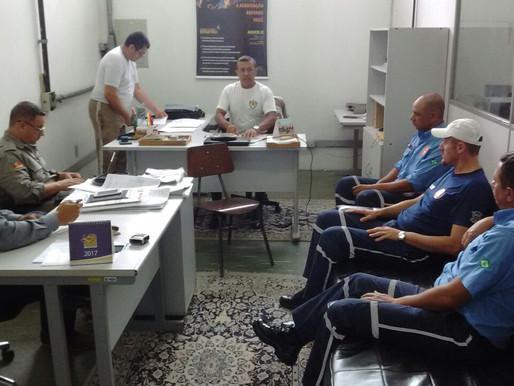 Brigada Militar e Secretaria do trânsito faz reunião sobre o vídeo monitoramento em Livramento