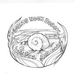 Giants Neck Beach, CT (logo)