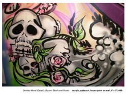 Bryan's Skulls & Roses  (detail)