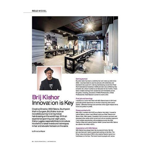 Interior shoot published in _salonintern