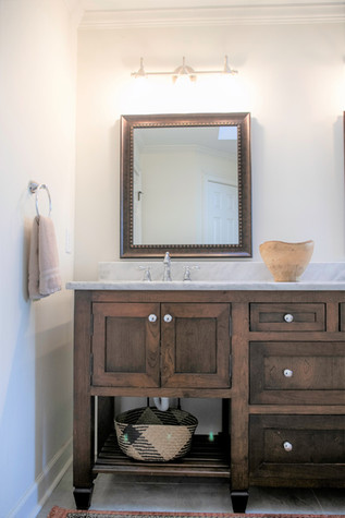 Polystyrene mirror framing