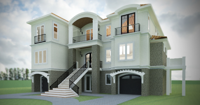Architectural Visualizations WIlmington NC