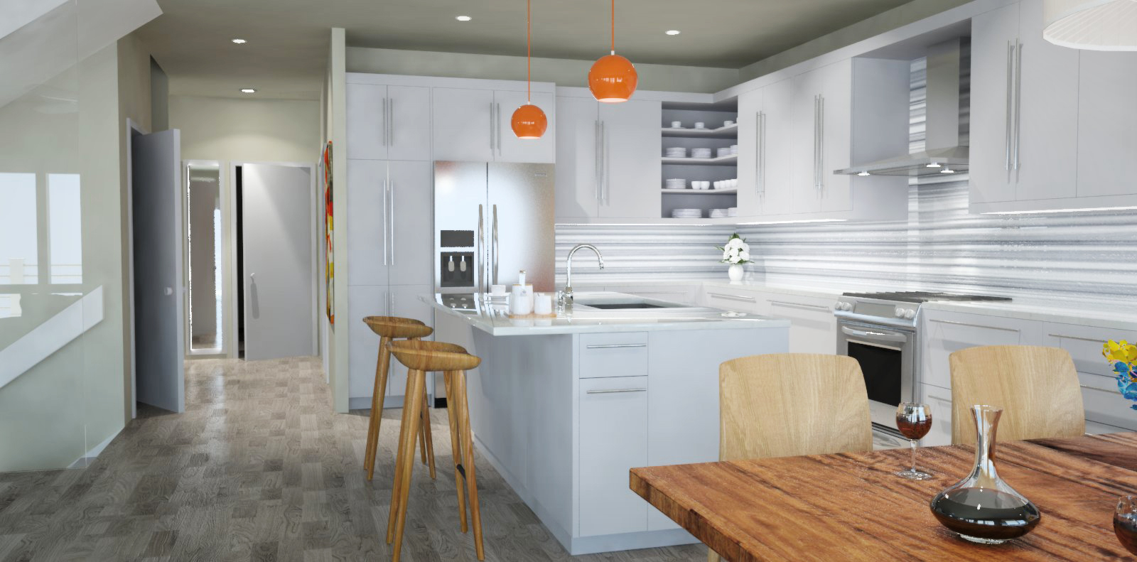 3D Kitchen Design Wilmington NC