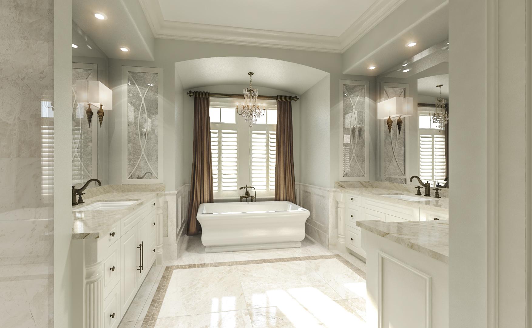 3D Bathroom Design Wilmignton NC