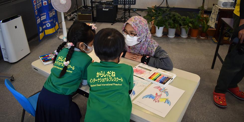 Bat Outreach at Mustard Seed International Preschool
