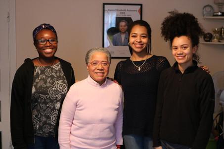 Interviewing Dame Elizabeth Anionwu