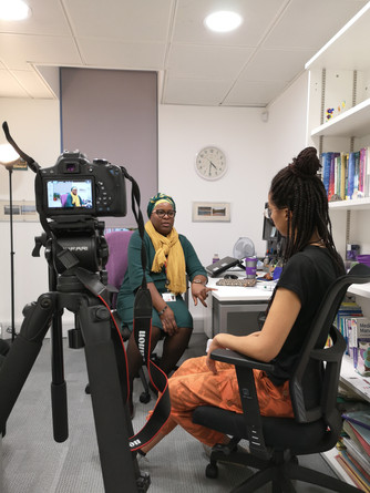Interviewing Mariama