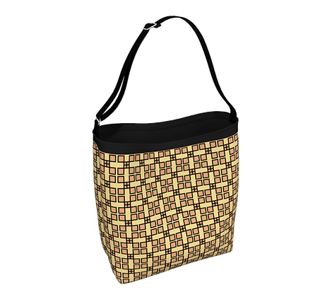 Day Tote - Adinkra - Excellence (Small Pattern)