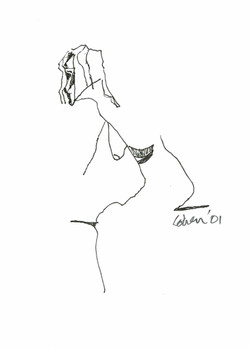 Leanimg Woman