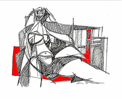 Seated Woman 1