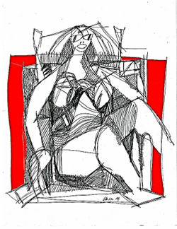 Seated Woman 2