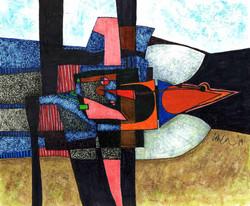 Landscape with Bird