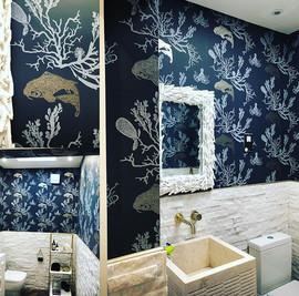 #barnebygates #coral #wallpaper