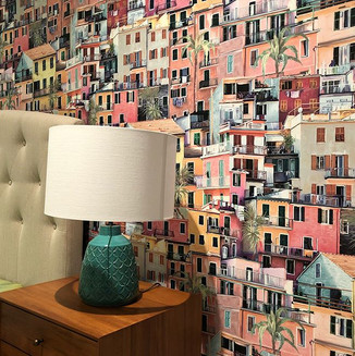 #osborneandlittle #wallpaper #houses_ofthe_world