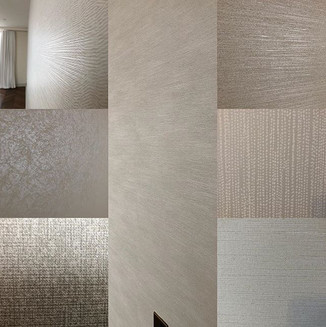 Anothe collectiof of feature walls completed with this beautiful designs #harlequin #romo #zoffany #sohopenthouse