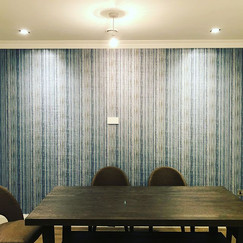 #osborneandlittle #diningroom #wallpaper