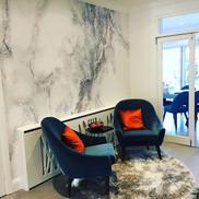 #Mural marble design _On wide vinyl #wallpaper