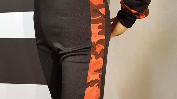 Cycle Shorts - Camo Collection (Orange)